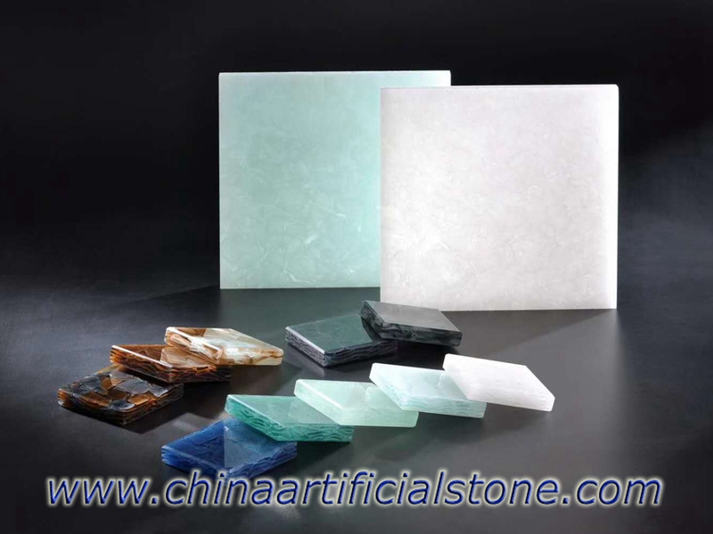 Engineered Recycled Magna Glass Surface