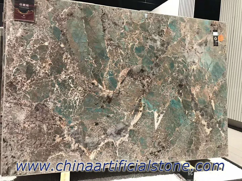 Natural Amazon Green Quartzite Slabs